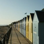 Mundesley beach huts www.stay-norfolk.co.uk